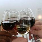 Zum Wohl - Weingläser